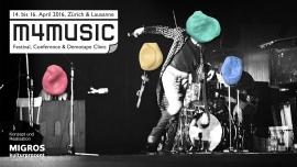 M4MUSIC 2016 Schiffbau & Moods & Exil Zürich Tickets