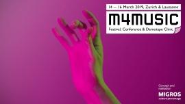 m4music 2019 Schiffbau & Moods & Exil Zürich Tickets