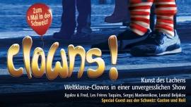 Clowns - Die Kunst des Lachens MAAG Halle Zürich Tickets