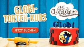 Globi Tortenkurs Maestrani's Chocolarium Flawil bei St. Gallen Tickets