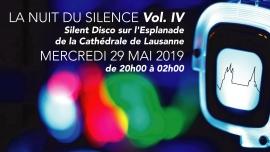 La Nuit du Silence Vol. IV Esplanade de la Cathédrale de Lausanne Lausanne Billets