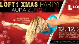 Loft1 Xmas Party Aura Zürich Tickets