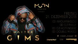 Maitre Gims Clubshow Moon Club Basel Tickets