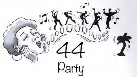 Ü44-Party mit DJ Alan & The Beatz Mühle Hunziken Rubigen Biglietti