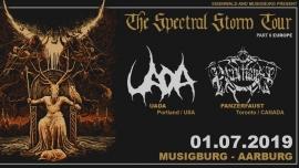 The Spectral Storm Tour: Uada, Panzerfaust, Kankar - Arburg Musigburg Aarburg Billets