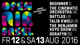 Open Air Basel Kasernenareal Basel Tickets