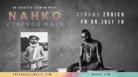 Nahko & Trevor Hall Dynamo Zürich Tickets