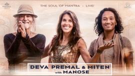 Deva Premal & Miten avec Manose Théâtre Beaulieu Lausanne Tickets
