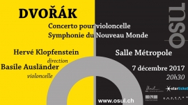 A. Dvorák Salle Métropole Lausanne Billets