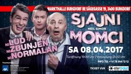 Ni lud ni zbunjen ni normalan Markthalle Burgdorf Tickets