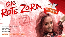 Die rote Zora Kinder.musical.theater Storchen St.Gallen Billets
