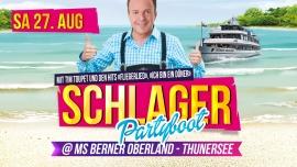 Schlager Partyboot mit Tim Toupet MS Berner Oberland Thun Tickets
