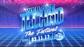 We love techno the festival Reitschule Bern, Grosse Halle Bern Billets
