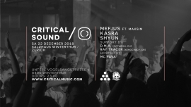 Critical Sound Salzhaus Winterthur Billets