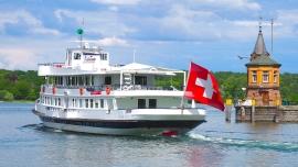 1. August-Abendfahrt mit MS Zürich MS Zürich Rorschach Hafen Biglietti