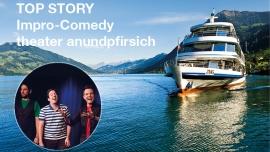 Impro-Comedy vom theater anundpfirsich MS Rigi Zug, Bahnhofsteg Biglietti
