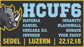 Hardcore United Fest VI Sedel Emmenbrücke Tickets