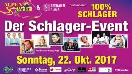 100% Schlager - der Schlager-Event SEEDAMM PLAZA Pfäffikon SZ Tickets