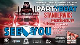 See You 2016 Abfahrt Bürkliplatz Zürichsee Tickets