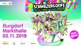 Zusatzshow: Schwiizergoofe - Hello Family Tour 2019 Markthalle Burgdorf Tickets