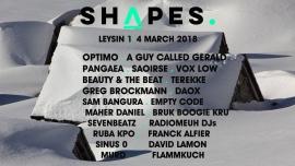 Shapes Festival Divers lieux Leysin Billets