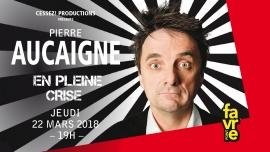 Pierre Aucaigne Salle Point favre Chêne-Bourg Tickets