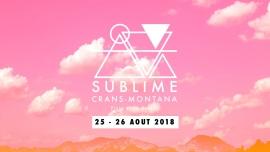 Sublime Festival Plage de la Moubra Crans-Montana Tickets