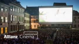 Allianz Cinema Business Supporter 2018 Münsterplatz Basel Billets