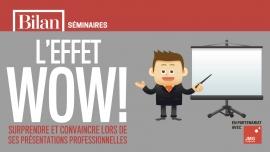 """Séminaire de formation """"l'effet WOW ! en présentations professionnelles"""" FER Genève Genève Biglietti"""