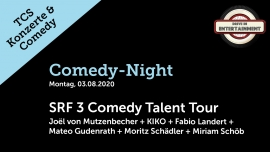 Comedy-Night: SRF3 Comedy Talent Tour TCS Zentrum Betzholz Hinwil (ZH) Tickets
