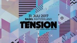 Tension Festival 2017 Gartenbad St. Jakob Basel Billets