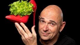 """Frank Sauer: """"Scharf angemacht"""" Theater im Teufelhof Basel Billets"""