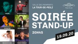 Soirée Stand-UP Salle des Remparts La Tour de Peilz Biglietti