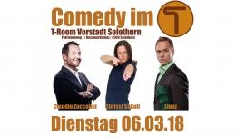 Comedy im T #5 T-Room Solothurn Biglietti