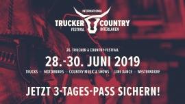 26. Intern. Trucker & Country-Festival Interlaken Flugplatz Interlaken Tickets