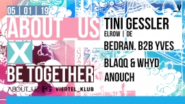 About us x Be Together w/ Tini Gessler Viertel Klub Basel Tickets