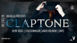 Valhalla presents: Claptone Viertel Klub Basel Biglietti