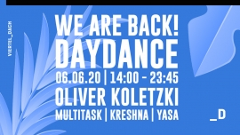 We are back! - Daydance w/ Oliver Koletzki Viertel Klub Basel Billets