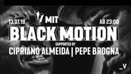 _V mit Black Motion Viertel Klub Basel Tickets