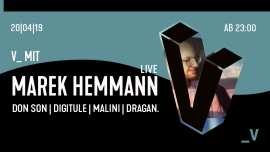 V mit Marek Hemmann Live Viertel Klub Basel Billets
