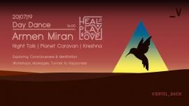 Heal Play Love Daytimer w/ Armen Miran Viertel Dach Basel Tickets