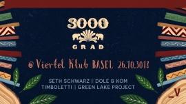 3000Grad On Tour Viertel Klub Basel Billets