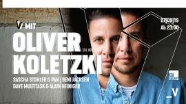 V mit Oliver Koletzki Viertel Klub Basel Biglietti