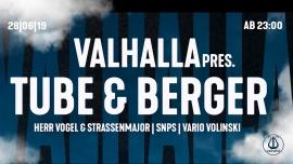 Valhalla mit Tube & Berger Viertel Klub Basel Billets