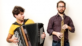 Vincent Peirani & Emile Parisien Salle Paderewski Lausanne Biglietti