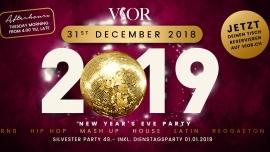Vior Silvester Night 2018/ 2019 VIOR Club, Löwenstrasse 2 Zürich Tickets