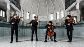 vision string quartet Stadtcasino, Hans Huber-Saal Basel Tickets