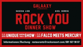 ROCK YOU Galaaxy Laax Billets