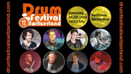 Drum Festival Switzerland Salzhaus Winterthur Tickets
