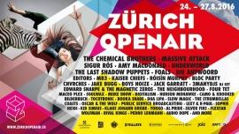 Zürich Openair 2016 Festivalgelände Glattbrugg Tickets